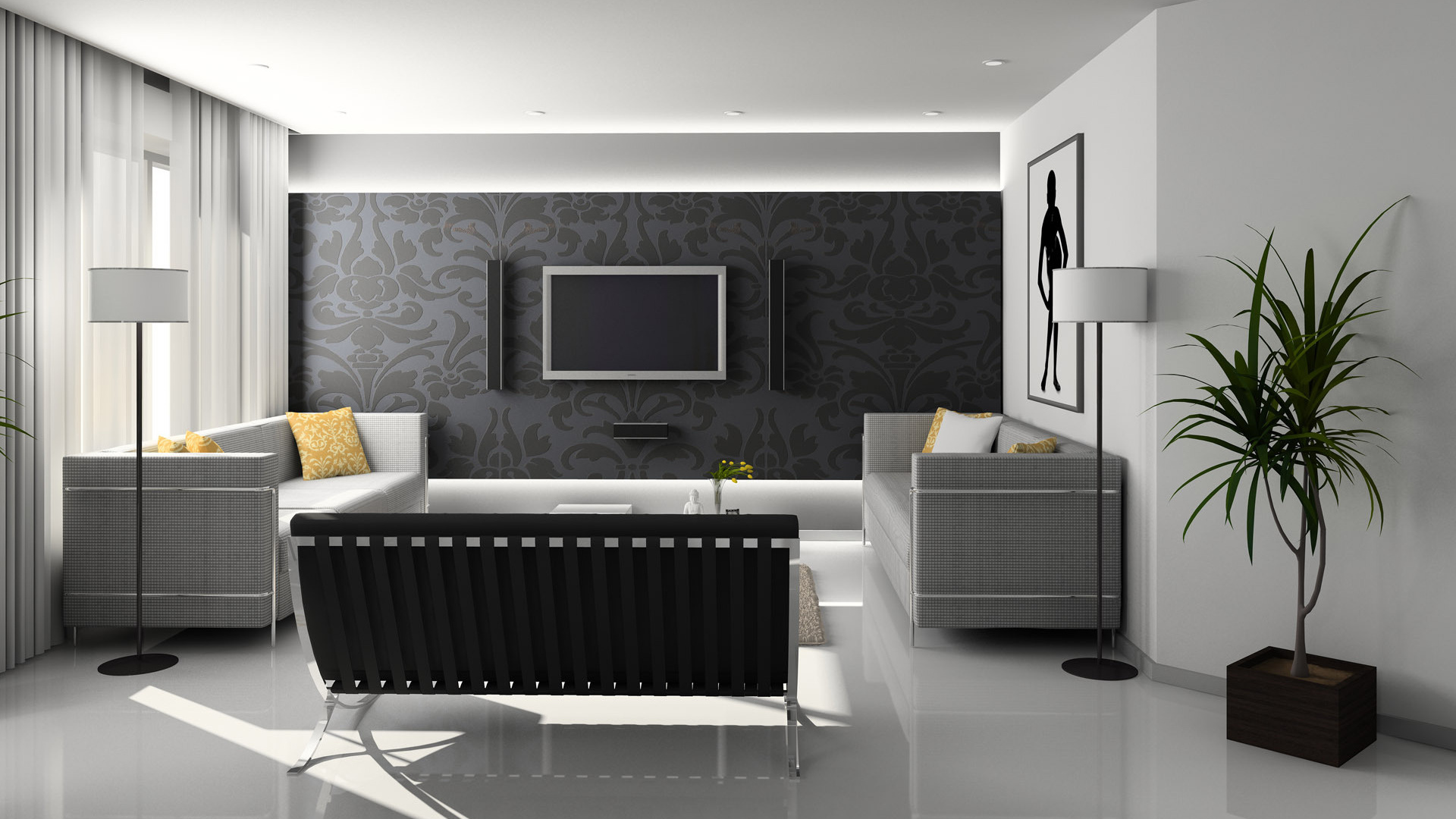 Modern furniture for contemporary bedroom living room